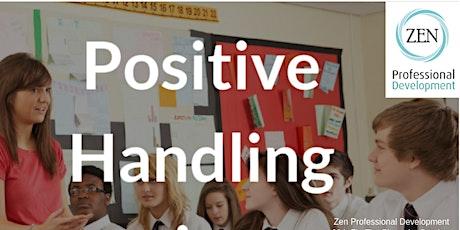 Positive Handling Restrainttickets