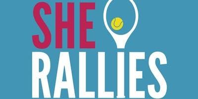 She Rallies Course GIRLS FUN DAYS (& North East Tennis Festival)