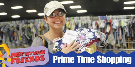 PRIME TIME Shopping Pass   JBF Coral Springs   October 2 tickets