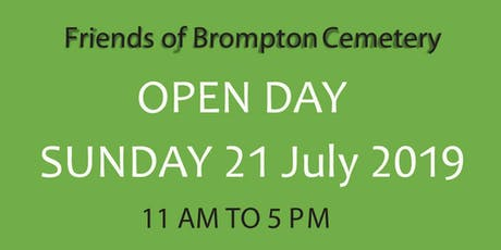Storytime with Anna-Christina at Brompton Cemetery's Annual Open Day! tickets