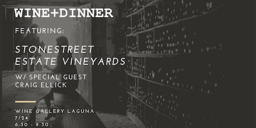 Wine Dinner @ Wine Gallery Laguna
