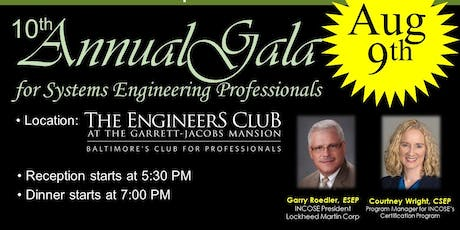 INCOSE-CC's 10th Annual Gala for Systems Engineering Professionals tickets