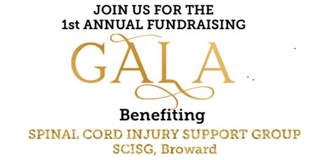 Spinal Cord Injury Support Group Broward, SCISG Fundraising Gala tickets