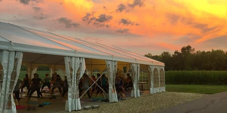 Sunset Yoga + Wine at the Weingarten tickets