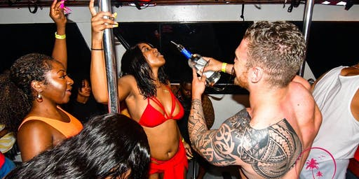 Miami Booze Cruise and JET SKI Package
