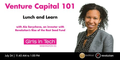 Venture Capital 101 Lunch and Learn tickets