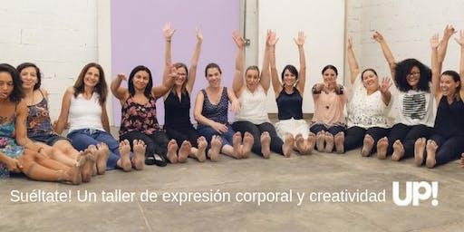 Suéltate! Un taller de expresión corporal y creatividad.