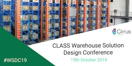 CLASS Warehouse Solution Design Conference 2019 #WSDC19 tickets