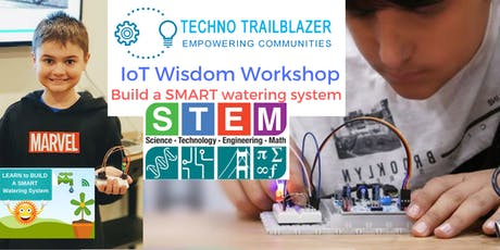 'Internet of Things (IoT) Wisdom' Holiday workshop for kids tickets