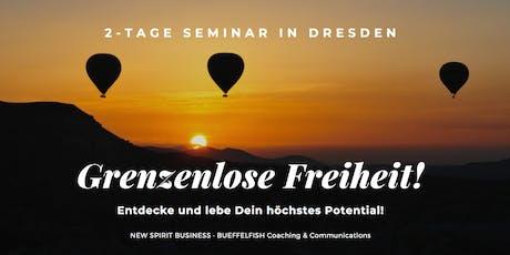2 Tage-Workshop - GRENZENLOSE FREIHEIT!  Tickets