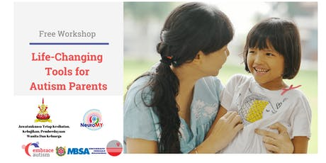 Life-Changing Tools for Autism Parents by Embrace Autism Spore (20 July'19) tickets