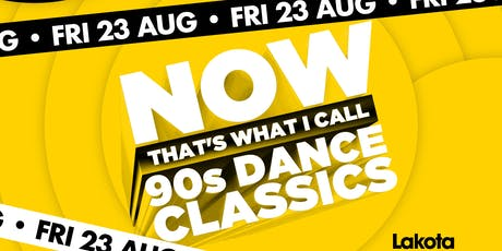 Now That's What I Call: 90's Dance Clasics! tickets