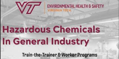 Hazardous Chemicals in General Industry Train-the-Trainer - Virginia Beach