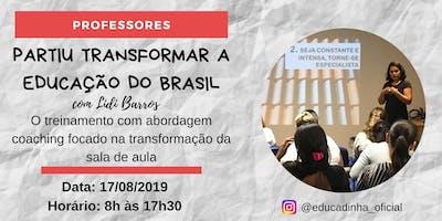 Treinamento Partiu Transformar a Educação do Brasil