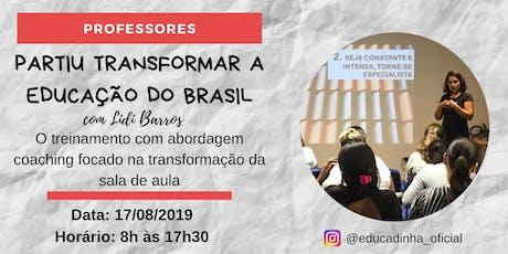 Treinamento Partiu Transformar a Educação do Brasil ingressos