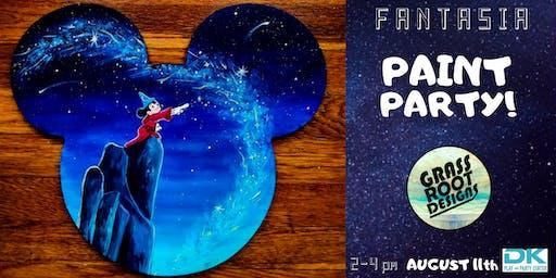 Fantasia Paint Party at Dk Play!
