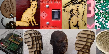 Laser-cutting Introduction - Sat 10th August (1-hour slots) tickets