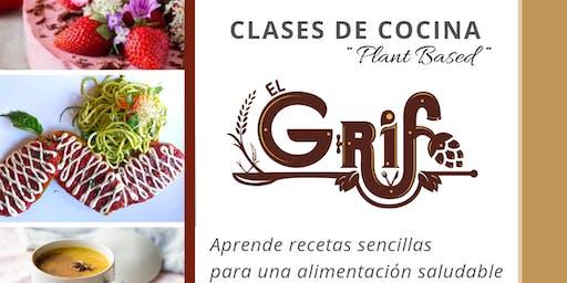 "Clases de Cocina ""Plant Based/Vegan"""