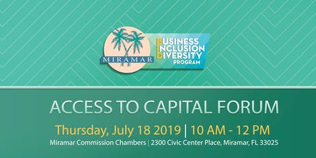 Access to Capital Forum tickets