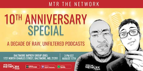 MTR the Network 10th Anniversary Special tickets