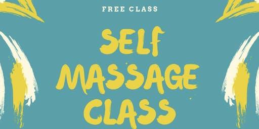 FREE EVENT: Self Care Massage Class