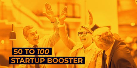 50 to 100 Startup Booster tickets