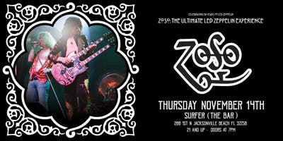 "ZOSO ""The Ultimate Led Zeppelin Experience"" - Jacksonville"