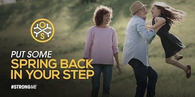 Morning Tea+Free Bone Scan - Bone Health Conversation