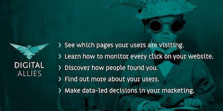 Google Analytics Masterclass tickets