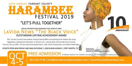10th Annual Tarrant County Harambee Festival