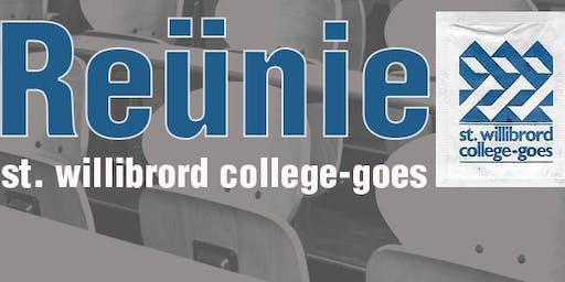 Reunie St. Willibrord college Goes