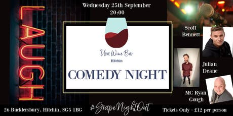 Comedy Night at Uva Wine Bar, Hitchin tickets