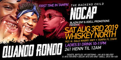 QUANDO RONDO & NOCAPP PERFORMING LIVE tickets