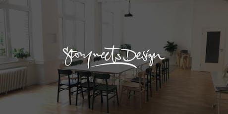 Story meets Design – September 2019 tickets