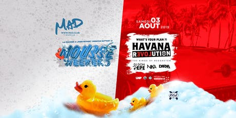 MOUSSE PARTY - HAVANA REVOLUTION billets