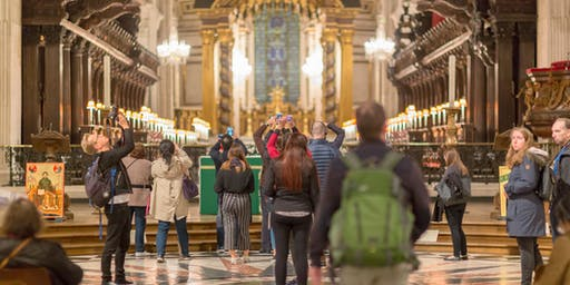 St Paul's Cathedral Lates - visit the Cathedral after hours