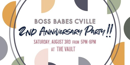 Boss Babes Cville 2nd Anniversary Party!!