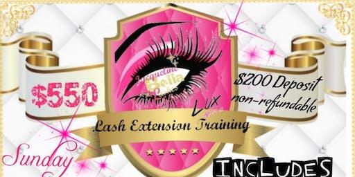 Lash Extension Training