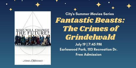 Summer Movies Series: Fantastic Beasts The Crimes of Gridelwald tickets