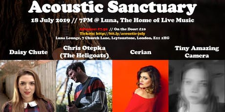 Acoustic Sanctuary: Summer Party with Laurel Canyon Music tickets