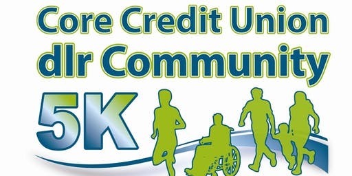 Core Credit Union dlr Community 5K 2019