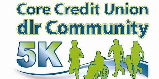Core Credit Union dlr Community 5K 2019