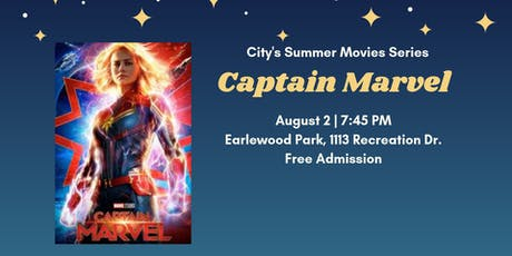 Summer Movies Series: Captain Marvel tickets
