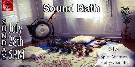 Sound Bath  tickets