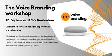 Exclusive Voice Branding Workshop tickets