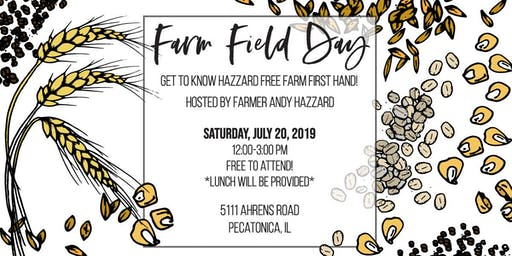 Hazzard Free Farm Field Day