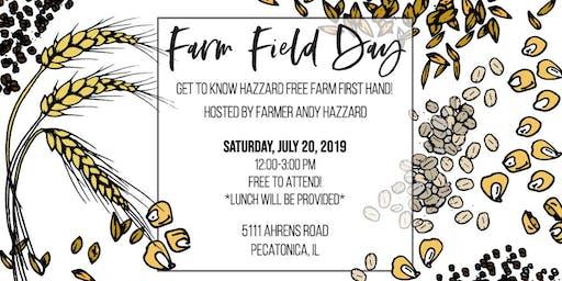 Hazzard Free Farm Field Day