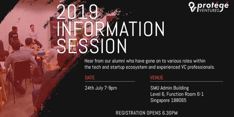 Protege Ventures Information Session 2019 tickets