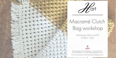 Macramé Clutch Bag Workshop tickets