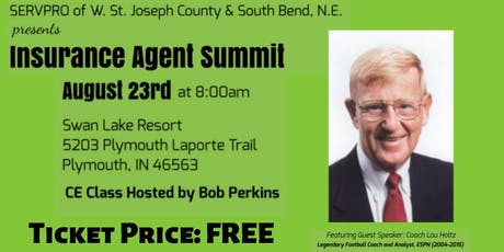 SERVPRO CE Event Plymouth with Lou Holtz  tickets